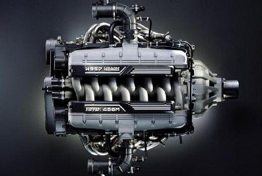 FERRARI 456 coupe silnik