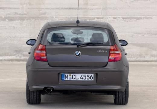 BMW Seria 1 E87 II hatchback brązowy tylny