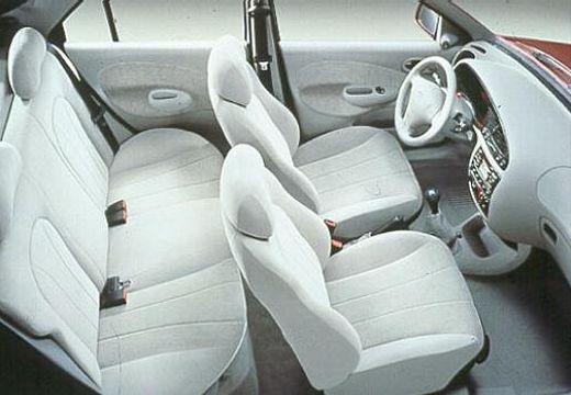 FORD Fiesta III hatchback wnętrze