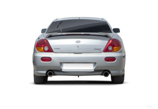 HYUNDAI Coupe coupe silver grey tylny