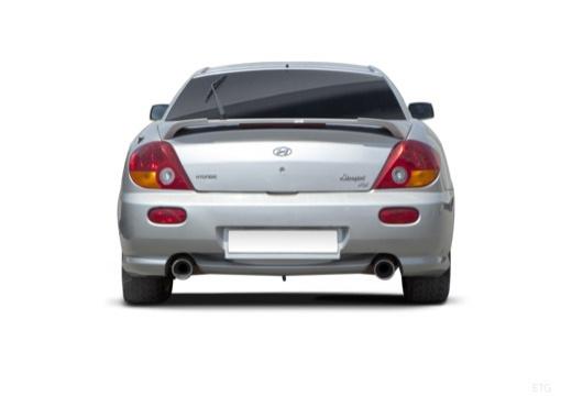 HYUNDAI Coupe III coupe silver grey tylny