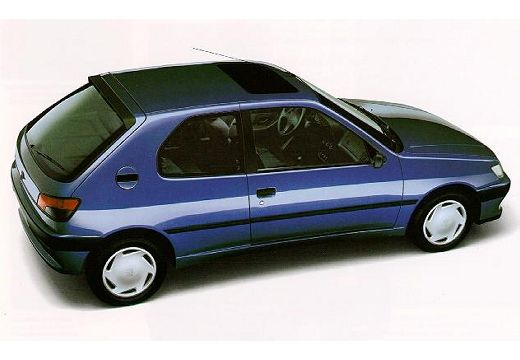 PEUGEOT 306 hatchback tylny prawy
