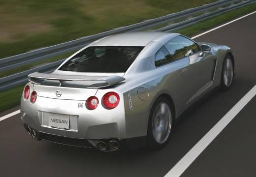 NISSAN GT-R I coupe silver grey tylny prawy