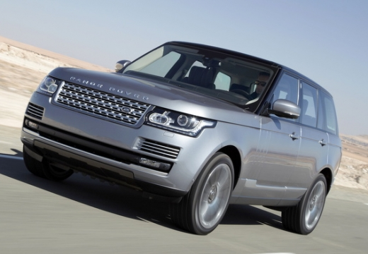 LAND ROVER Range Rover VI kombi silver grey przedni lewy
