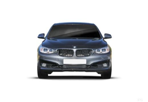 BMW Seria 3 Gran Turismo hatchback szary ciemny przedni