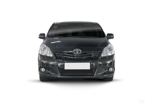 Toyota Verso I kombi mpv czarny przedni