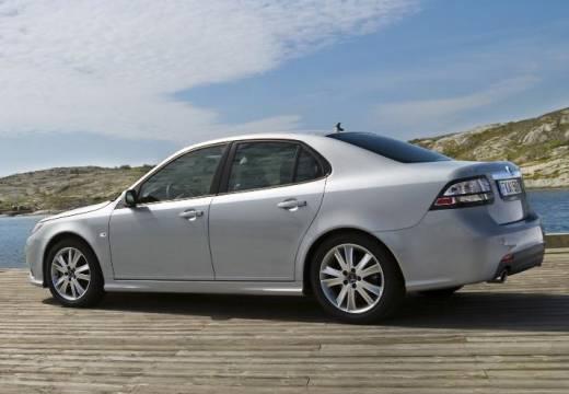 SAAB 9-3 Sport II sedan silver grey tylny lewy