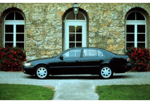 LEXUS GS 300 sedan czarny boczny lewy