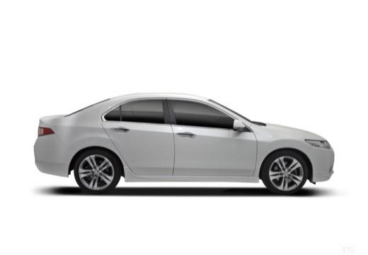 HONDA Accord VIII sedan biały boczny prawy