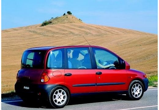 FIAT Multipla kombi czerwony jasny tylny prawy