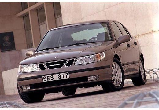 SAAB 9-5 II sedan brązowy przedni lewy