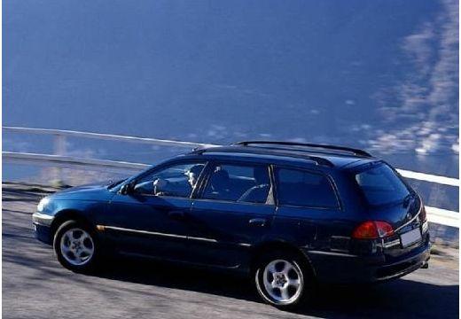 Toyota Avensis I kombi niebieski jasny tylny lewy