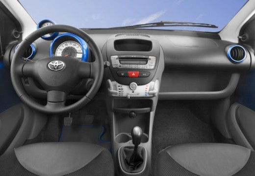 Toyota Aygo hatchback tablica rozdzielcza