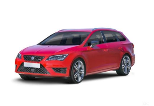 SEAT Leon ST I kombi czerwony jasny przedni lewy