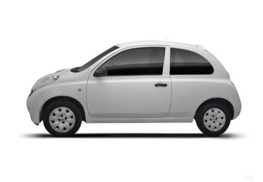 NISSAN Micra VI hatchback boczny lewy