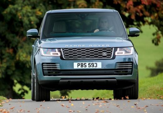 LAND ROVER Range Rover VII kombi niebieski jasny przedni