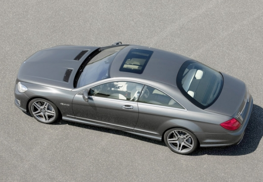 MERCEDES-BENZ Klasa CL C 216 II coupe silver grey tylny lewy