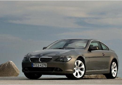 BMW Seria 6 coupe szary ciemny przedni lewy