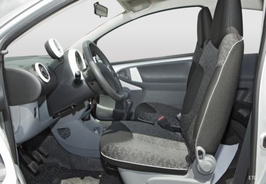 PEUGEOT 107 II hatchback wnętrze