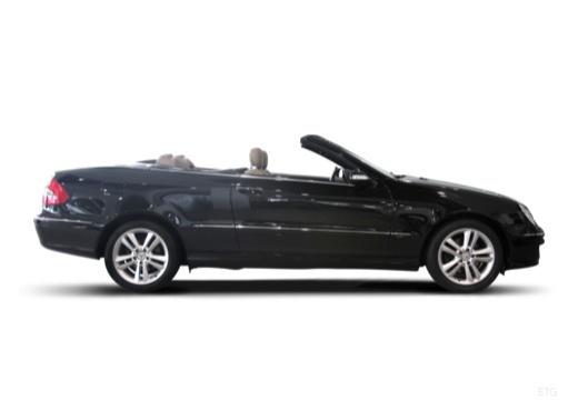 MERCEDES-BENZ Klasa CLK CLK Cabriolet A 209 II kabriolet boczny prawy