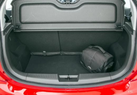 OPEL Karl hatchback przestrzeń załadunkowa