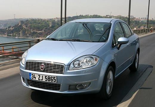 FIAT Linea sedan niebieski jasny przedni lewy