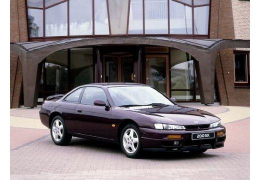 NISSAN 200 SX coupe bordeaux (czerwony ciemny) przedni prawy