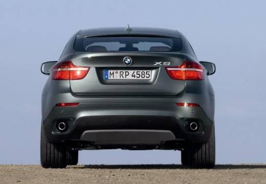 BMW X6 X 6 E71 hatchback szary ciemny tylny