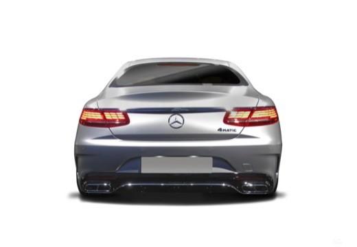 MERCEDES-BENZ S Klasa Coupe coupe tylny
