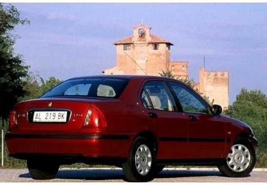 ROVER 400 sedan bordeaux (czerwony ciemny) tylny prawy