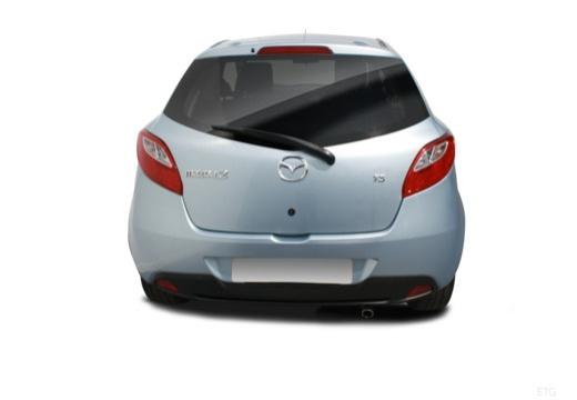 MAZDA 2 II hatchback tylny