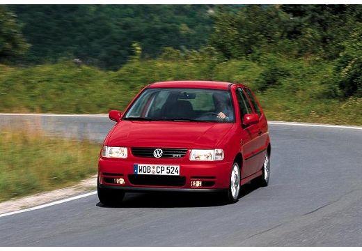 VOLKSWAGEN Polo III I hatchback czerwony jasny przedni lewy