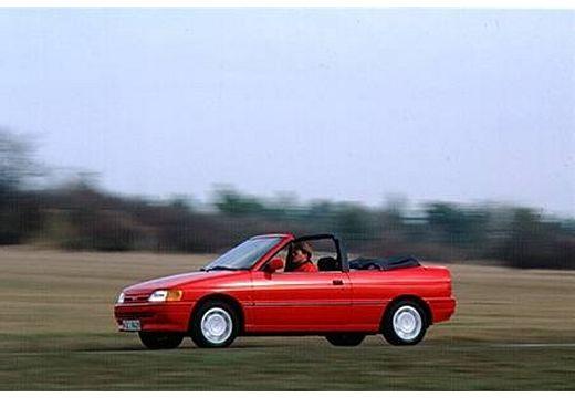 FORD Escort Cabriolet III kabriolet czerwony jasny przedni lewy