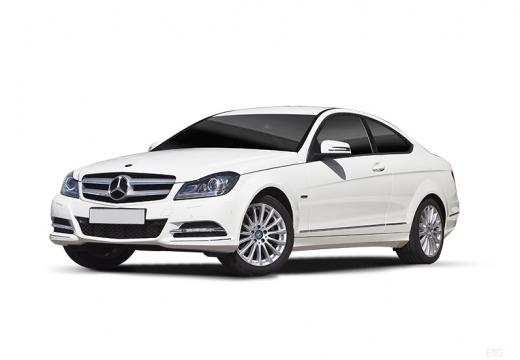 MERCEDES-BENZ Klasa C I coupe biały