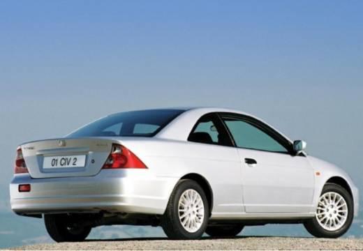 HONDA Civic coupe silver grey tylny prawy