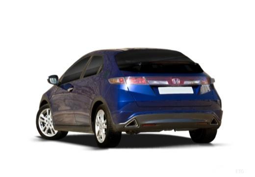 HONDA Civic VII hatchback tylny lewy