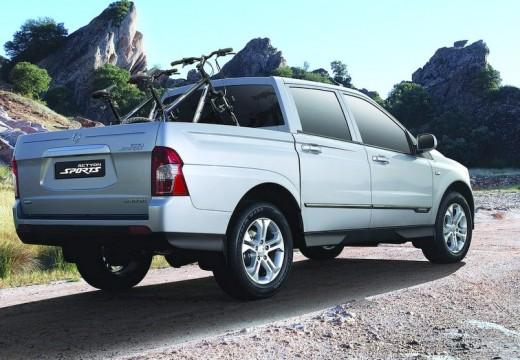SSANG YONG Actyon Sports II pickup silver grey tylny prawy