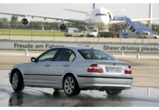 BMW Seria 3 E46/4 sedan silver grey tylny lewy