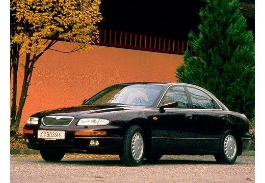 MAZDA Xedos 9 I sedan bordeaux (czerwony ciemny) przedni lewy