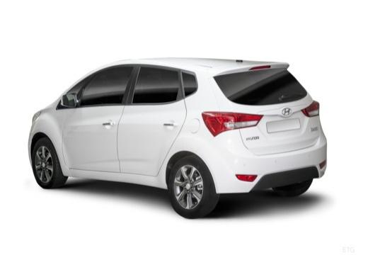 HYUNDAI ix20 II hatchback biały tylny lewy