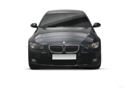 BMW Seria 3 coupe przedni