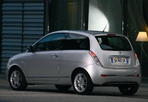 LANCIA Ypsilon II hatchback silver grey tylny lewy