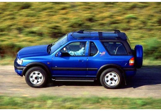 OPEL Frontera Kombi III hardtop niebieski jasny boczny lewy
