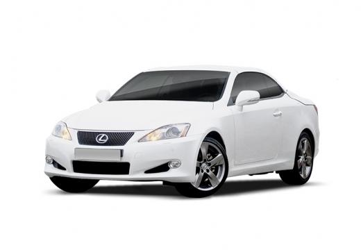 LEXUS IS C kabriolet biały