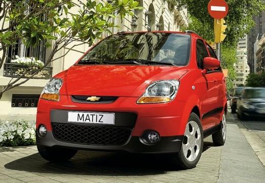 CHEVROLET Spark I hatchback czerwony jasny przedni lewy
