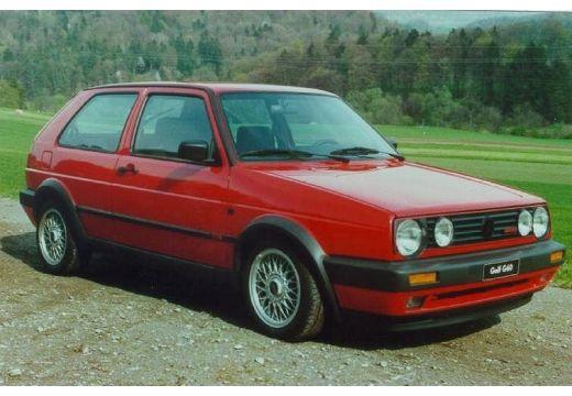 VOLKSWAGEN Golf II hatchback czerwony jasny przedni prawy