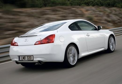 INFINITI G37 coupe biały tylny prawy