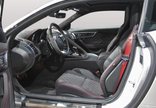 JAGUAR F-Type coupe wnętrze