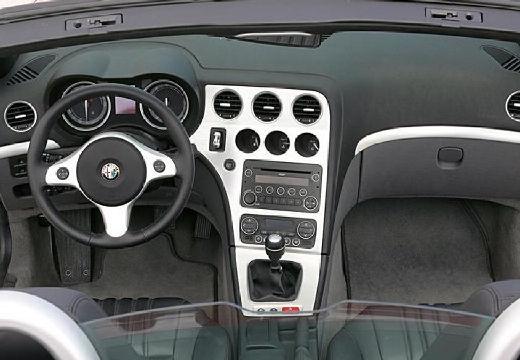 ALFA ROMEO Spider V kabriolet czerwony jasny tablica rozdzielcza