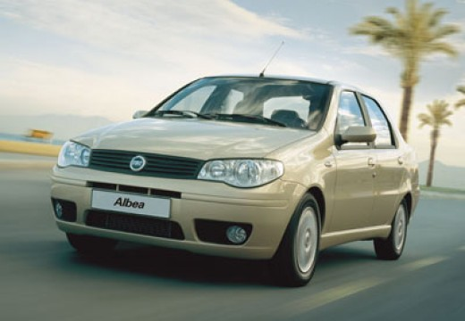 FIAT Albea sedan beige przedni lewy